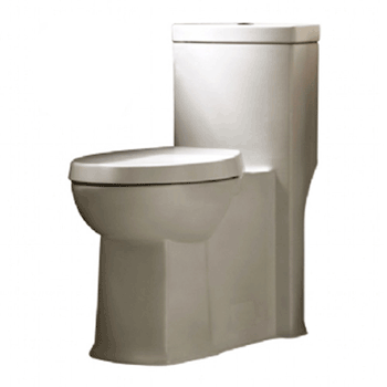 American Standard 2891.200.020 Boulevard Siphonic Dual Flush Right Height Elongated One-Piece Toilet with Seat, White