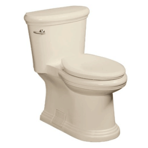 Danze DC011323WH Orrington 1-Piece High Efficiency Toilet with Soft Close Seat and Tank Lever, White