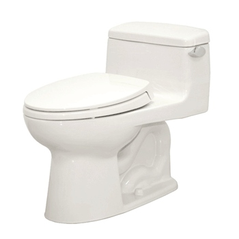 TOTO MS864114#01 Supreme Elongated One Piece Toilet, Cotton White