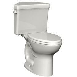 American Standard Elongated Two-Piece Triangle Toilet