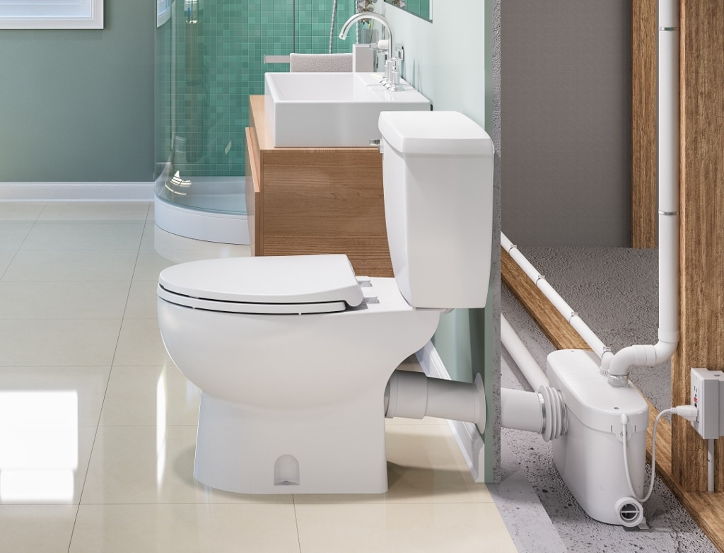 5 macerating upflush toilets reviews buying guide 2018 for Bathroom 4 less review